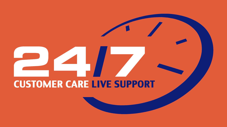 24 7 customer support