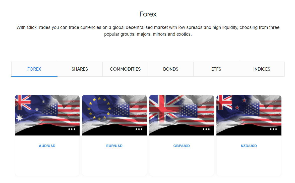 ClickTrades forex trading