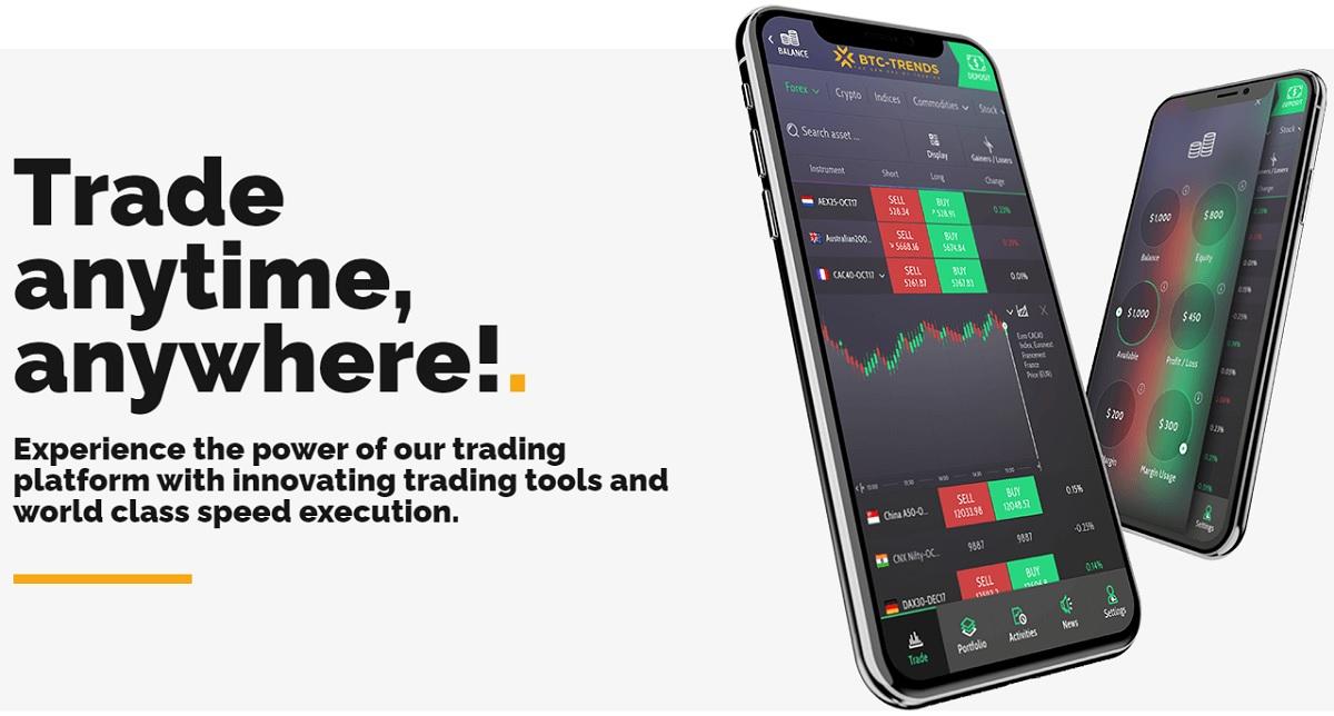 BTC-Trends trading platform