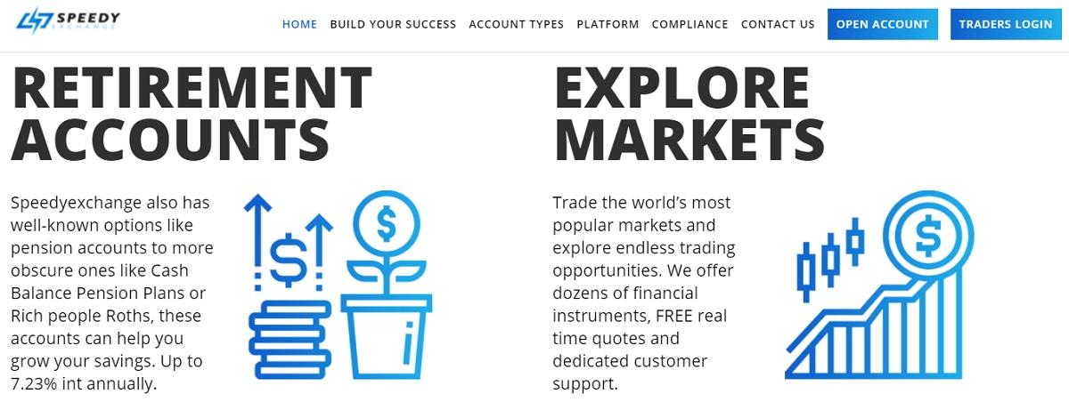 Speedy Exchange assets