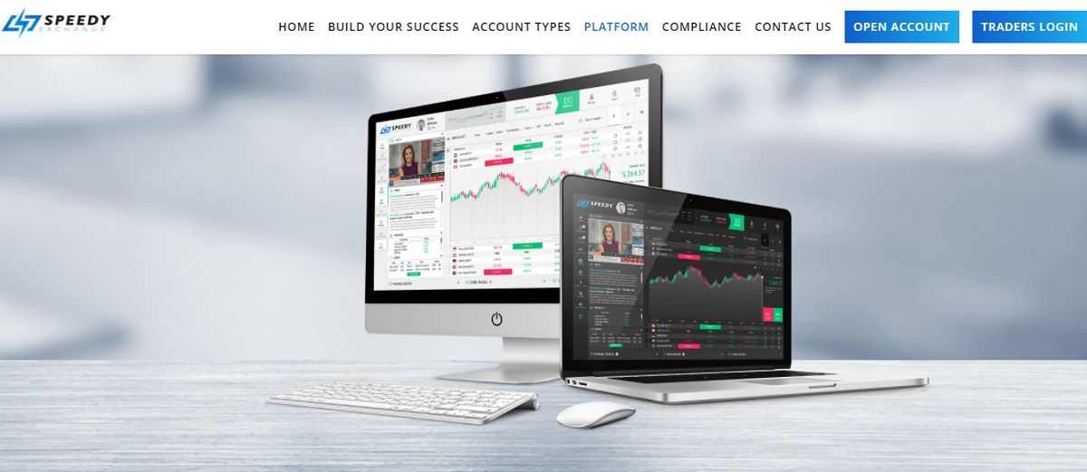 Speedy Exchange trading platform